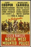 North West Mounted Police movie poster (1940) picture MOV_a455c164