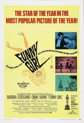 Funny Girl movie poster (1968) poster MOV_a45ec9d1