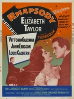 Rhapsody movie poster (1954) picture MOV_a4919611