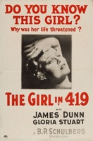 The Girl in 419 movie poster (1933) picture MOV_a498226f