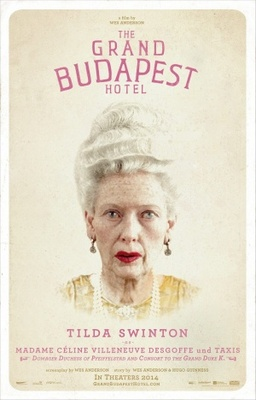 The Grand Budapest Hotel movie poster (2014) poster MOV_a49da8fa