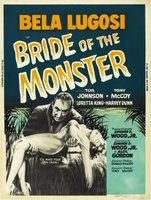 Bride of the Monster movie poster (1955) picture MOV_a4a45339