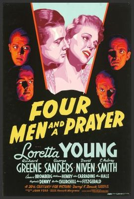 Four Men and a Prayer movie poster (1938) poster MOV_a4a7b434