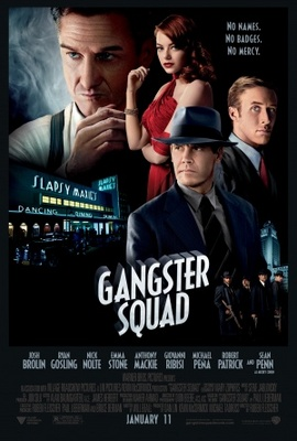 Gangster Squad movie poster (2012) poster MOV_a4b179e5