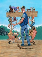 Ernest Goes to Camp movie poster (1987) picture MOV_a4b6536a