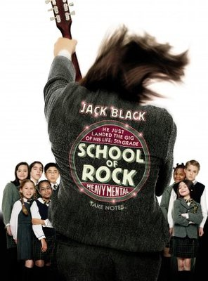 The School of Rock movie poster (2003) poster MOV_a4d88bbd