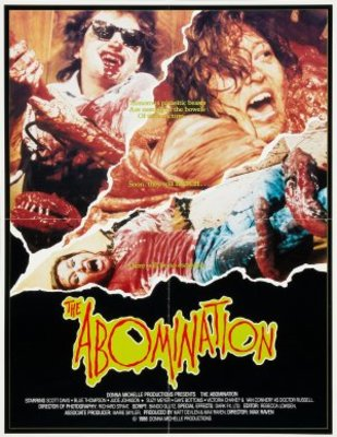 The Abomination movie poster (1986) poster MOV_a4e2d96e