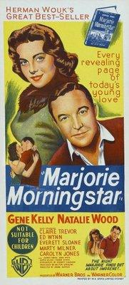 Marjorie Morningstar movie poster (1958) poster MOV_a4e42d5a