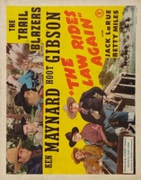 The Law Rides Again movie poster (1943) picture MOV_a4e75def