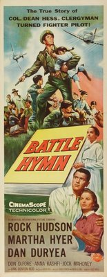 Battle Hymn movie poster (1956) poster MOV_a4f45806