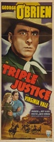 Triple Justice movie poster (1940) picture MOV_a5080e53