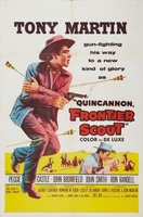 Quincannon, Frontier Scout movie poster (1956) picture MOV_a50f6241