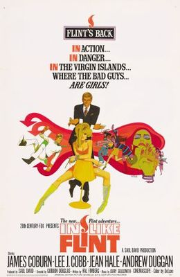 In Like Flint movie poster (1967) poster MOV_a526fd5d