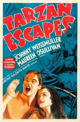 Tarzan Escapes movie poster (1936) poster MOV_a5281063