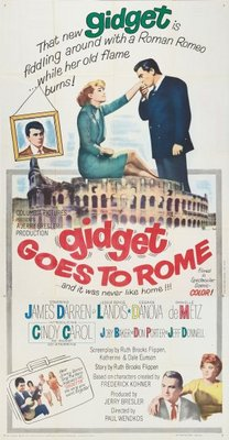 Gidget Goes to Rome movie poster (1963) poster MOV_a561e184