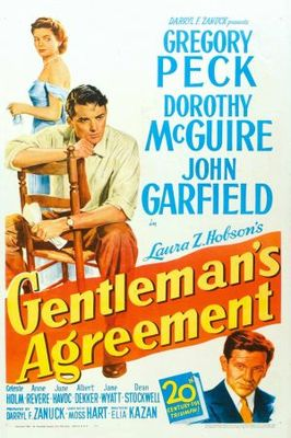 Gentleman's Agreement movie poster (1947) poster MOV_a563acaf