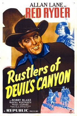 Rustlers of Devil's Canyon movie poster (1947) poster MOV_a56c9032