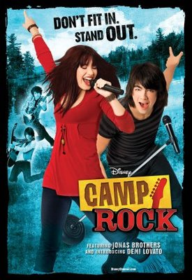 Camp Rock movie poster (2008) poster MOV_a58384bb