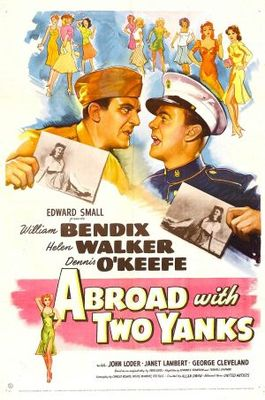 Abroad with Two Yanks movie poster (1944) poster MOV_a595b983
