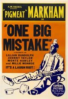 One Big Mistake movie poster (1940) picture MOV_a5a132ba