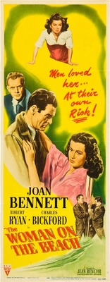 The Woman on the Beach movie poster (1947) poster MOV_a5aa6ff7