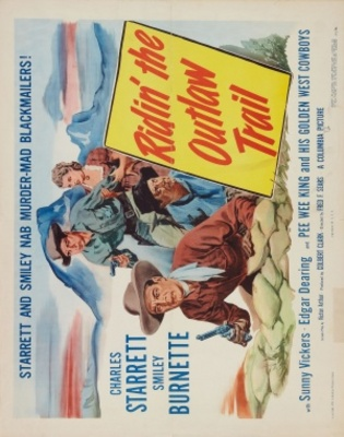 Ridin' the Outlaw Trail movie poster (1951) poster MOV_a5b1c90b