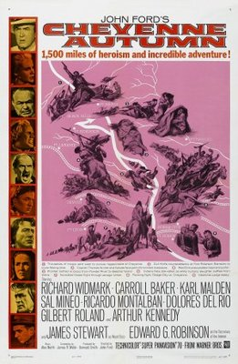 Cheyenne Autumn movie poster (1964) poster MOV_a5d46c3f