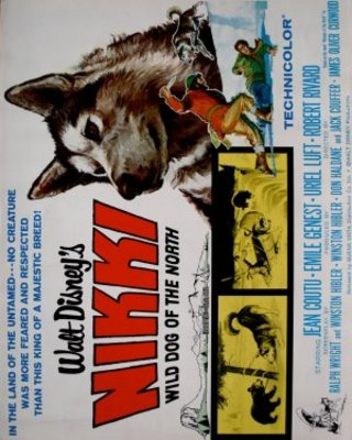 Nikki, Wild Dog of the North movie poster (1961) poster MOV_a5dde74f