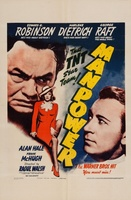 Manpower movie poster (1941) picture MOV_a5f57cf5