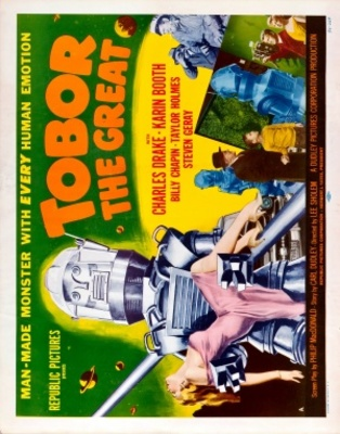 Tobor the Great movie poster (1954) poster MOV_a6124b18