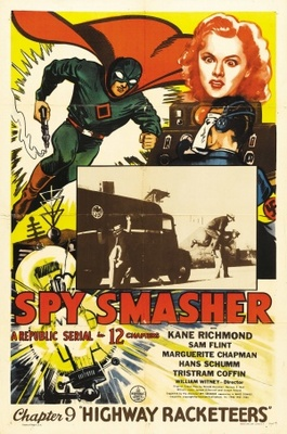 Spy Smasher movie poster (1942) poster MOV_a613e928