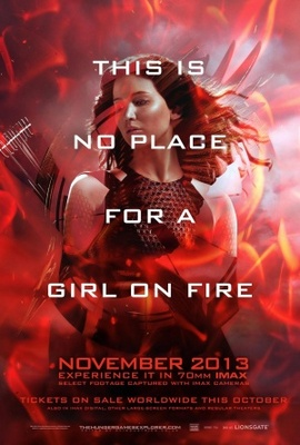 The Hunger Games: Catching Fire movie poster (2013) poster MOV_a624f0d9