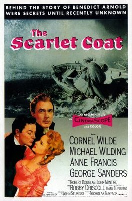 The Scarlet Coat movie poster (1955) poster MOV_a630b273