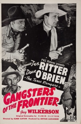 Gangsters of the Frontier movie poster (1944) poster MOV_a66b5252
