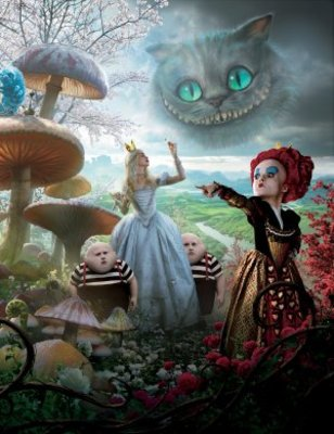 Alice in Wonderland movie poster (2010) poster MOV_a66cd114