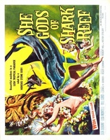 She Gods of Shark Reef movie poster (1958) picture MOV_a680c0cd