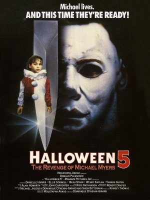 Halloween 5 movie poster (1989) poster MOV_a6b78c40