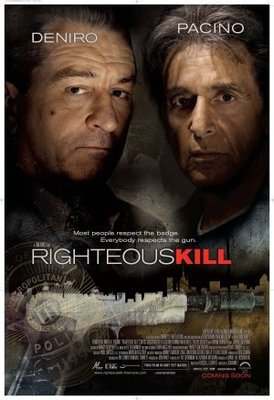 Righteous Kill movie poster (2008) poster MOV_a6c7d7e3