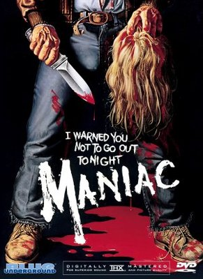 Maniac movie poster (1980) poster MOV_a6eed984