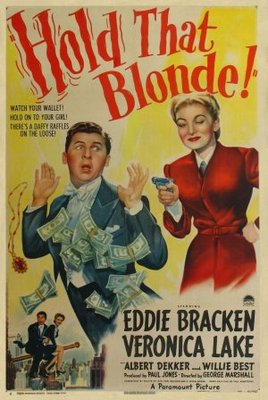 Hold That Blonde movie poster (1945) poster MOV_a73c145f