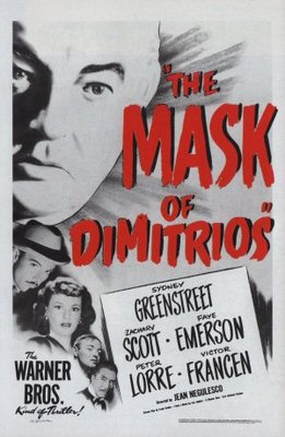 The Mask of Dimitrios movie poster (1944) poster MOV_a73e7ac9