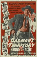 Badman's Territory movie poster (1946) picture MOV_a76fbb12