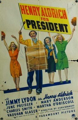 Henry Aldrich for President movie poster (1941) poster MOV_a792b1b6