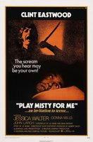 Play Misty For Me movie poster (1971) picture MOV_a7b0b79b