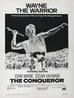 The Conqueror movie poster (1956) picture MOV_a7c20bcd