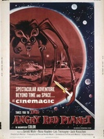 The Angry Red Planet movie poster (1960) picture MOV_a7e34750