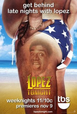 Lopez Tonight movie poster (2009) poster MOV_a7e40153