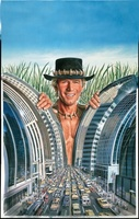 Crocodile Dundee movie poster (1986) picture MOV_a7fcfb35