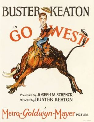 Go West movie poster (1925) poster MOV_a7fd4cda