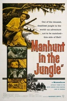 Manhunt in the Jungle movie poster (1958) picture MOV_a7feb337
